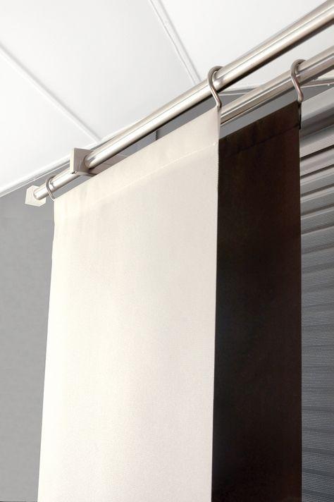 Sliding Door Diy Ikea Panel Curtains 45 Super Ideas