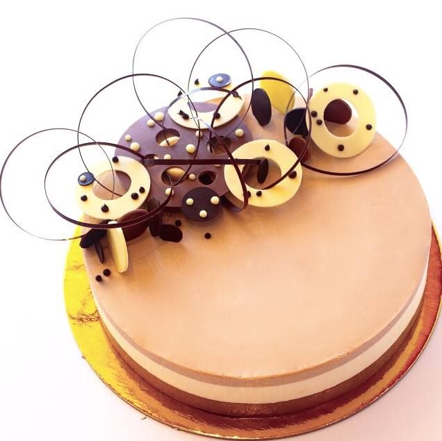 Chocolate mousse cake by julien degraeve the future of - Mousse decoration ...