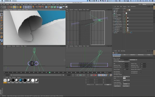Paper Tear Effect with Cinema 4D & After Effects by Robert Hranitzky. Have a sneak peek behind the scenes on how I have created the torn paper effect for the GenArts Reel Intro. The great combination of Cinema 4D and After Effects was used to achieve this effect.