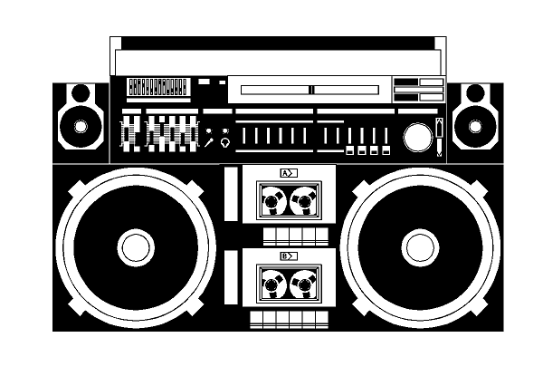 Boom Box Miscellaneous Random Custom Decals For Home Office Or Car Https Www Etsy Com Shop Angelbabycustomdecal Ref S Boombox Art Boombox Hip Hop Tattoo