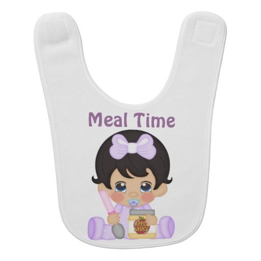 Beautiful Retro Custom Baby Bib