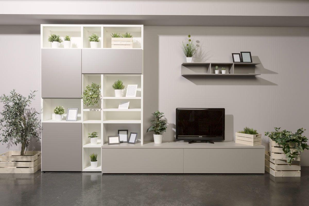 Soggiorno moderno componibile Easy Lops Ninfea 1 | soggiorno ...