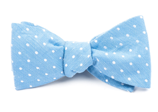 Dotted Dots Light Blue Bow Tie Men S Bow Ties Light Blue Bow Tie Blue Bow Tie Men Light Blue Tie