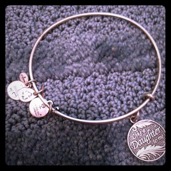 Alex And Ani Like A Daughter To Me Bracelet Alex And Ani