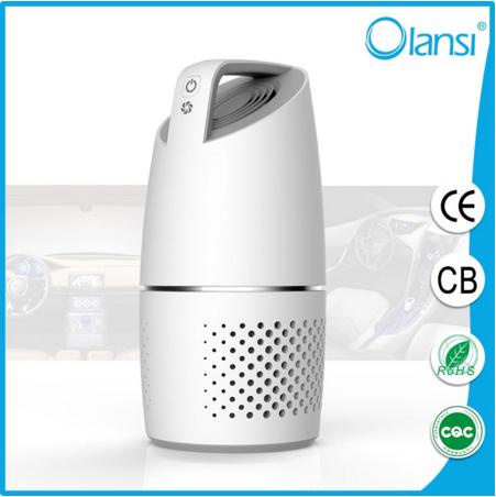 Portable car air cleaner remove dust/Desktop hepa mini air