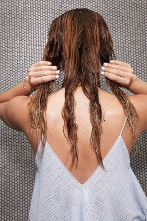 4 Wet Hairstyles To Get You Out The Door Fast Hair Without Heat Thick Hair Styles Wet Hair Overnight