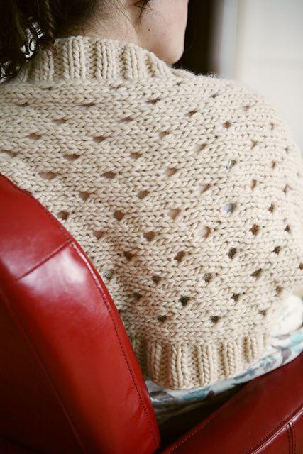 Ravelry: Unshaped Shrug pattern by Susan Crawford   Let\'s Knit ...