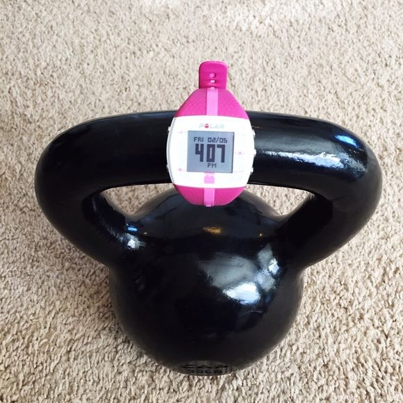 Polar Ft4 Heart Rate Monitor Watch System Pink Polar Ft4 Heart Rate