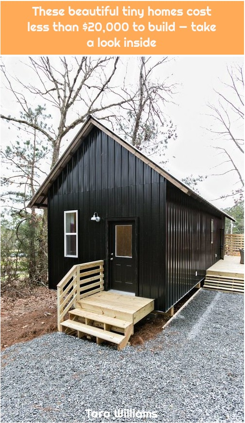 48 These Beautiful Tiny Homes Cost Less Than 20 000 To Build Take A Look Inside In 2020 Tiny Home Cost House Cost Cottage Design