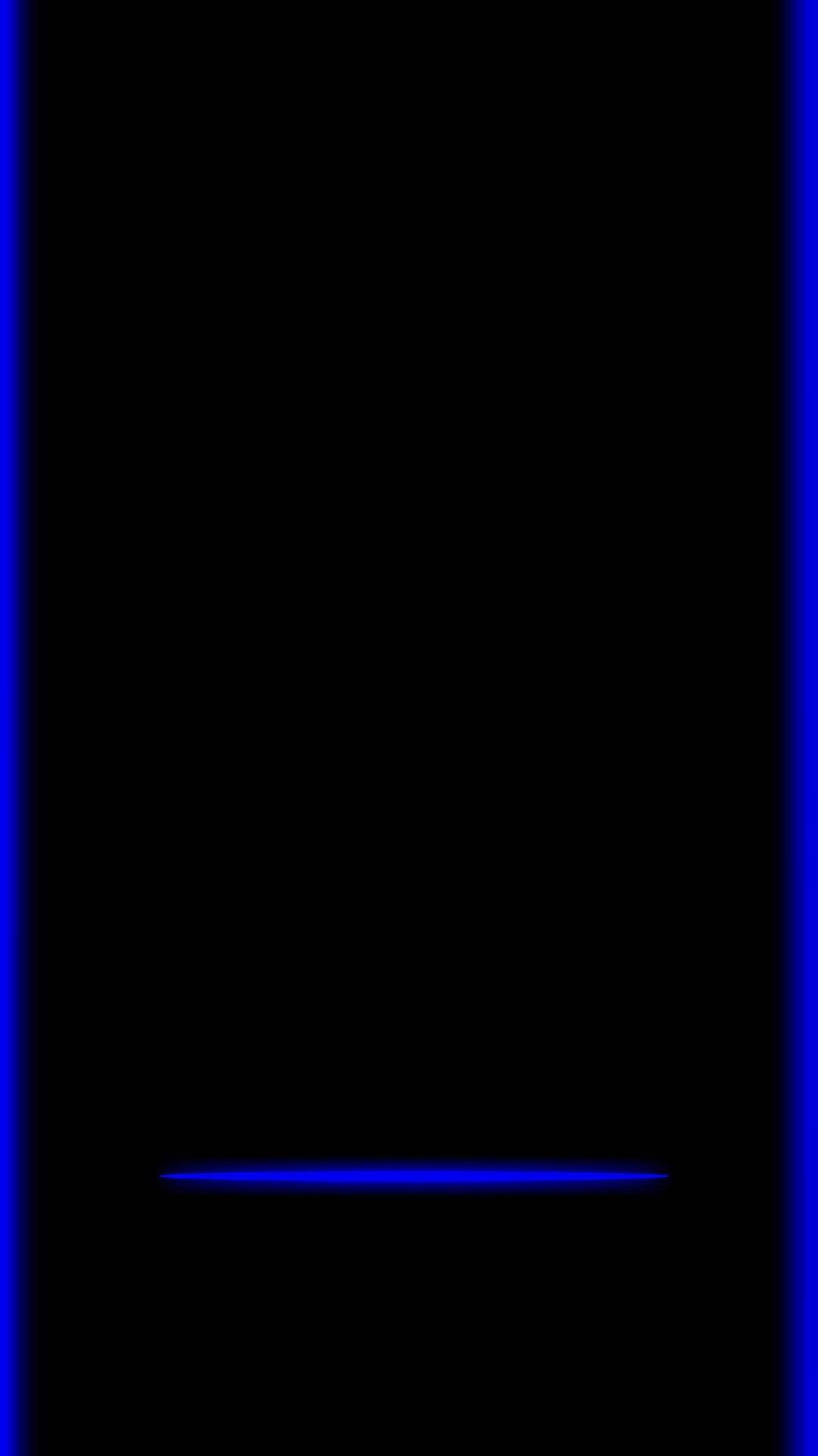 S7 Edge Blue Seni Gambar