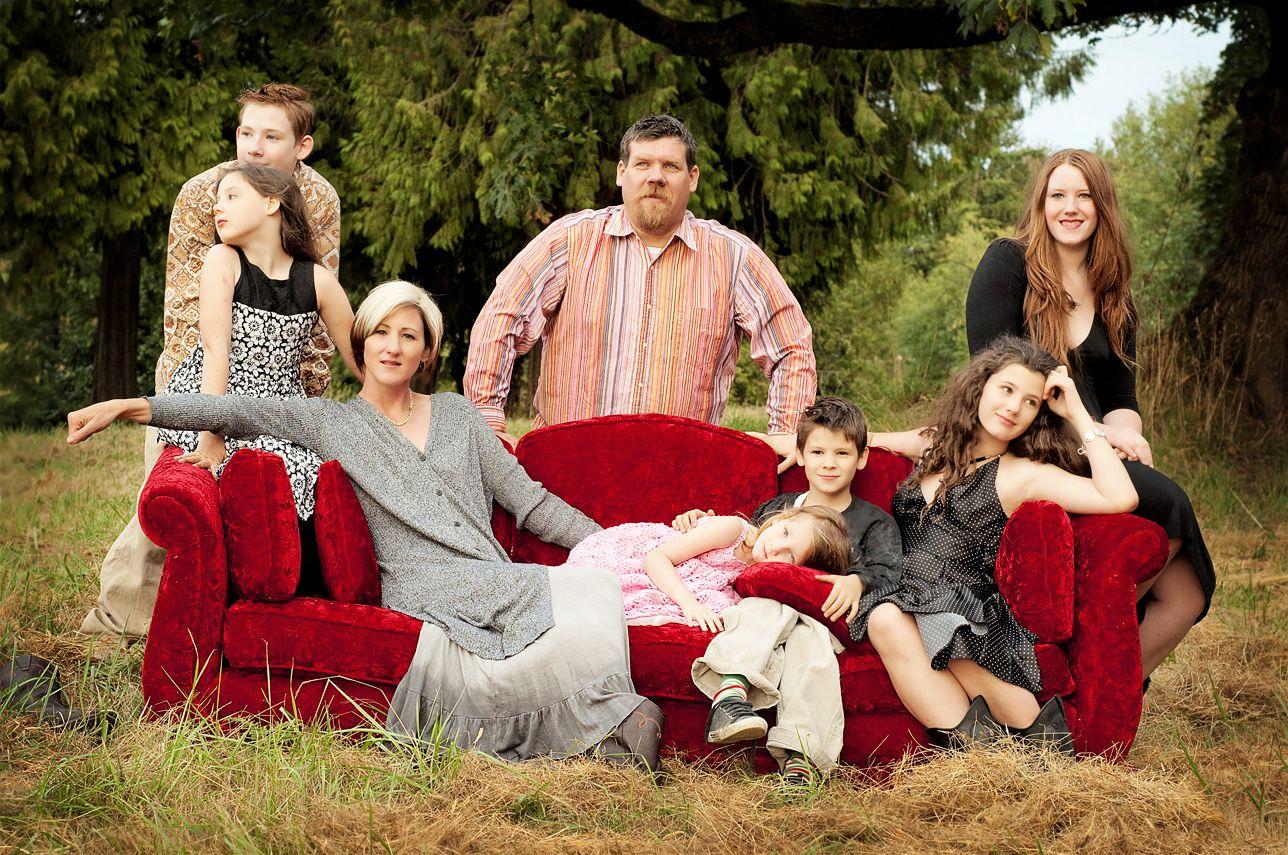 Large family photo ideas sasse family large family for Giant christmas card ideas