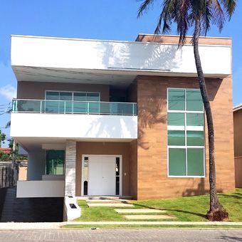 Casa Duplex Quintas Do Lago 01 Arquitetura De Casa Exteriores