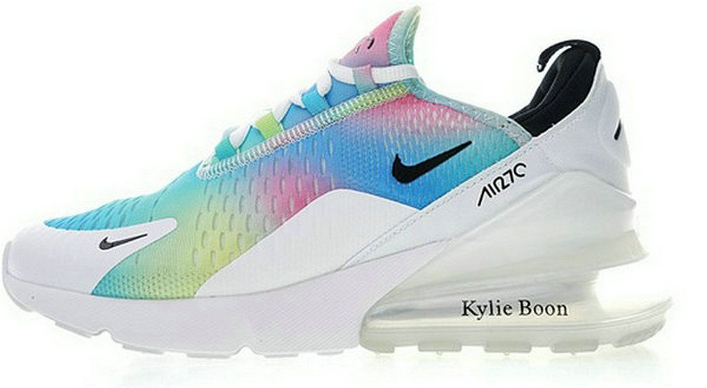 newest 2e3d4 e3054 2018 Where To Buy Nike Air Max 270 Flyknit White Rainbow Ah6789 700 Sneaker