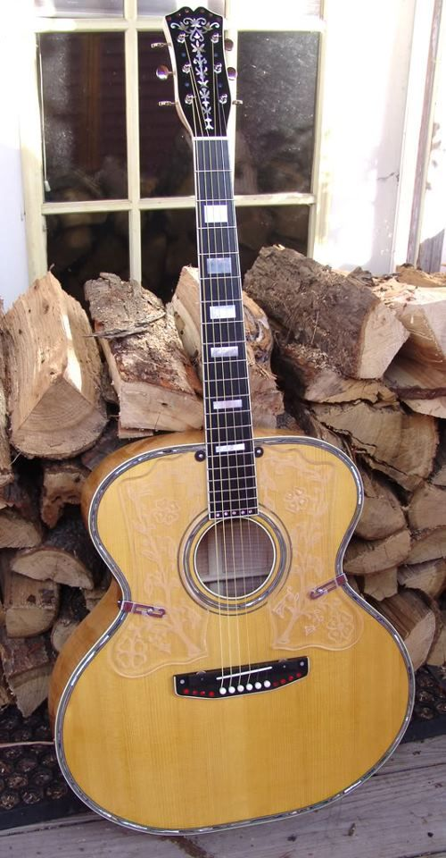 euphenon acoustic guitars made by carl and august larson the guitars of chicago s larson. Black Bedroom Furniture Sets. Home Design Ideas