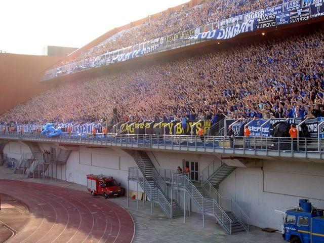 Bad Blue Boys Zagreb Dinamo Zagreb Gnk Dinamo Zagreb Ultras Football Zagreb