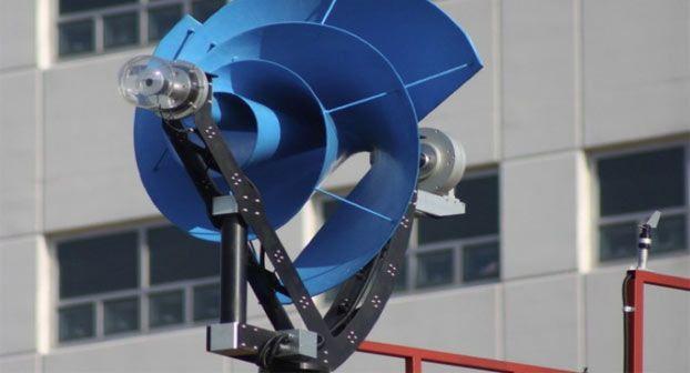 Turbina eolica domestica archimede ad un prezzo di 4 mila for Turbine eoliche domestiche
