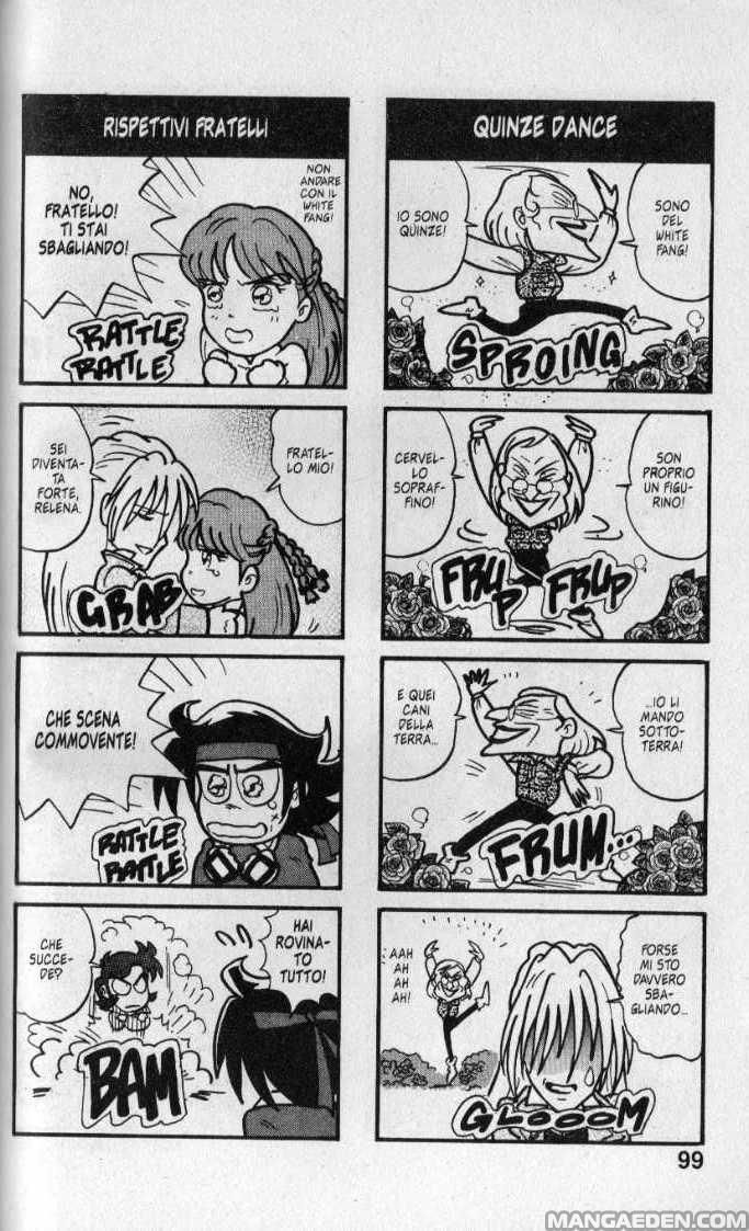 Gundam wing comic strip