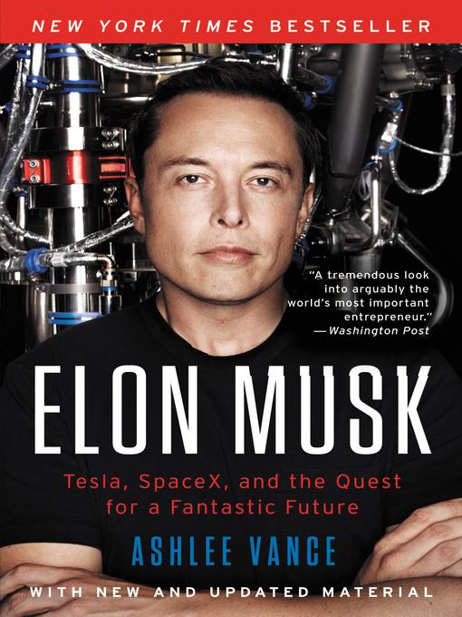 Ashlee Vance in 2020 Biography books, Ebook, Elon musk