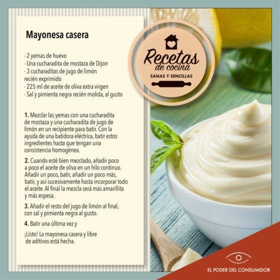 17 Ideas De Aderezos Mayonesa Mayonesa Casera Receta De Mayonesa