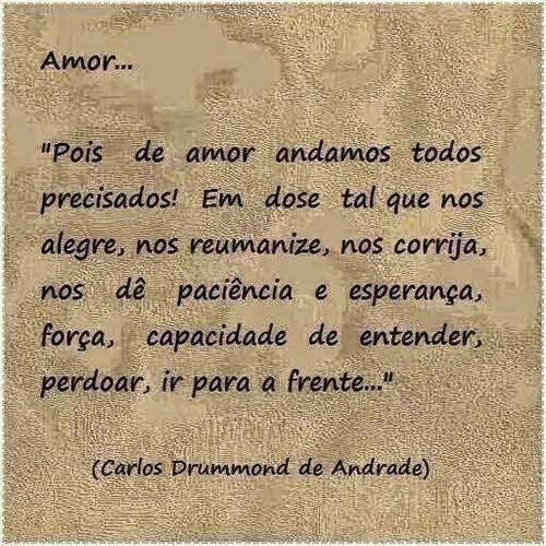 Poemas E Versos Carlos Drummond De Andrade Amor Torrentes De