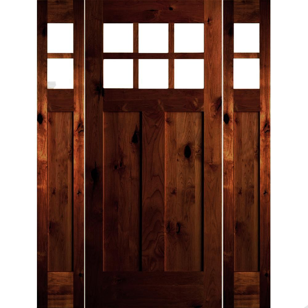 10 Lite Exterior Door Cl 1707 Stained Doors Exterior Doors With Glass Exterior Stain Colors