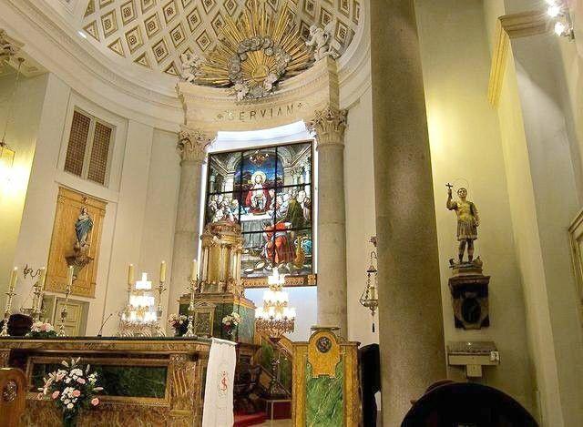 Interior Oratorio Caballero de Gracia (Wikipedia) MADRID