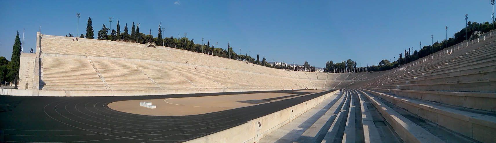 Panoramica dello Stadio Panathinaiko