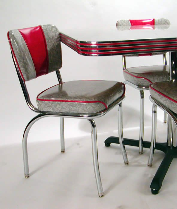 Pics Of 50s Retro Dining Sets Dinette Set In Grey   Wheelchair   Retro  Dining Room