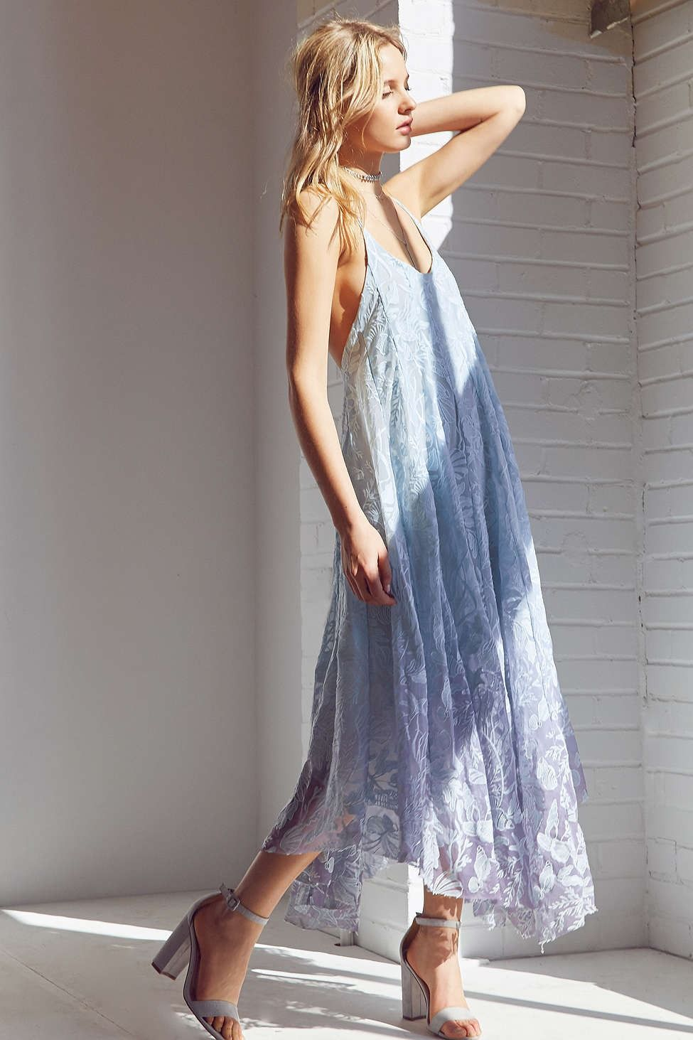 Kimchi Blue Deluxe Mermaid Midi Dress - Urban Outfitters  fa9d06df6
