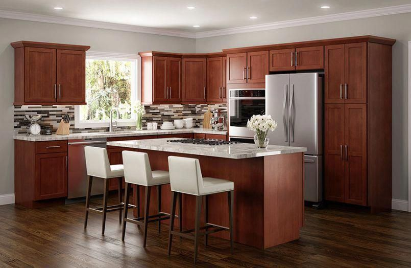 Kitchen American Cherry Kitchen Cabinets Cherry Laminate ...