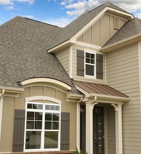 James Hardie Buckeye Home Services House Shutters Exterior House Siding House Paint Exterior