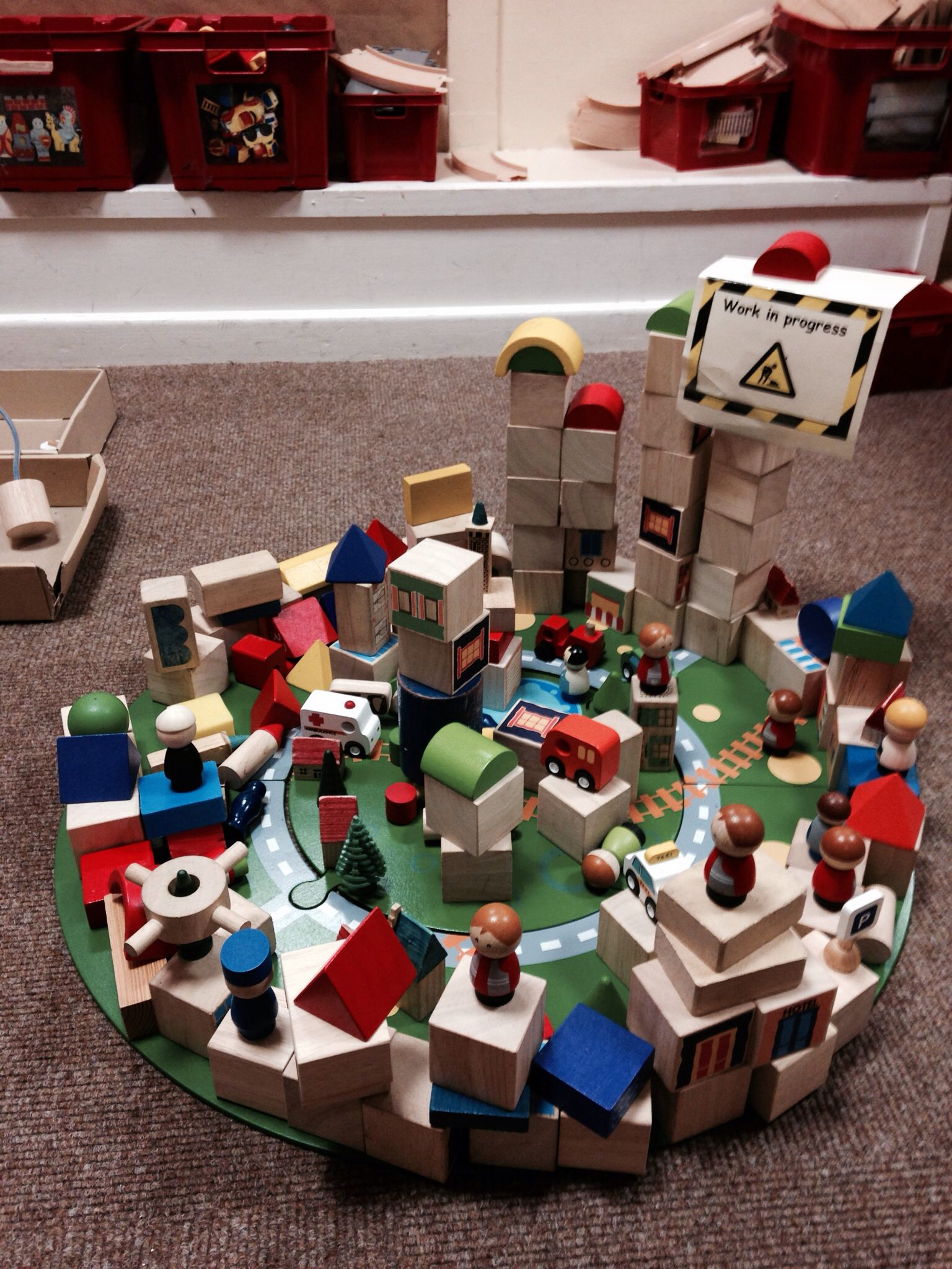 """Fab collaborative small world play from Hannah McCrimmon ("""",)"""