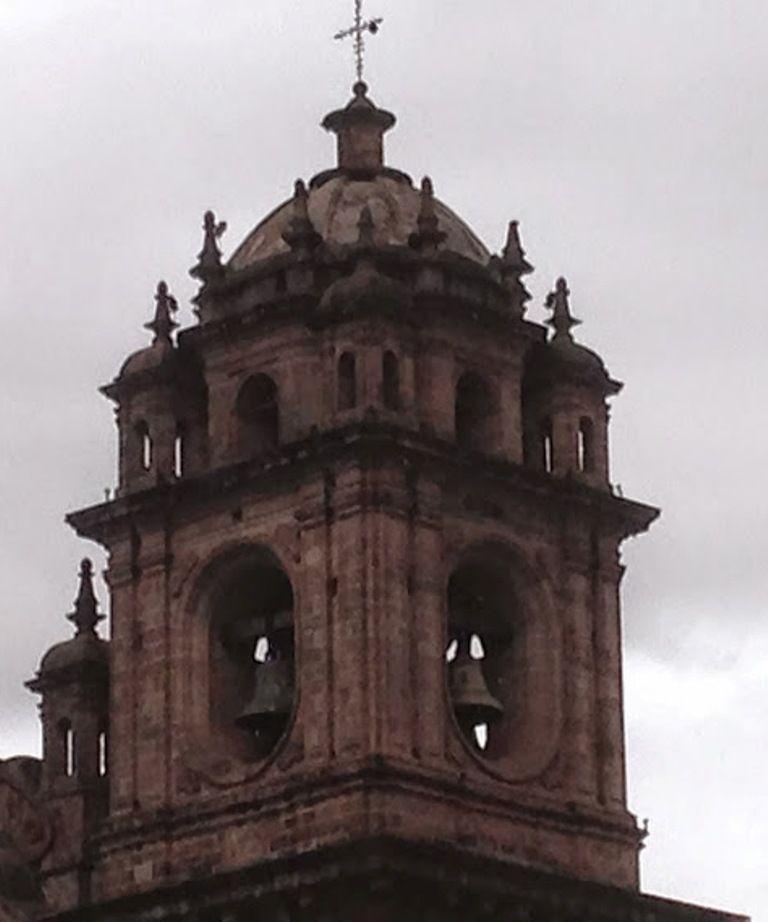 Cuzco, torre de la Iglesia de la Compañía.