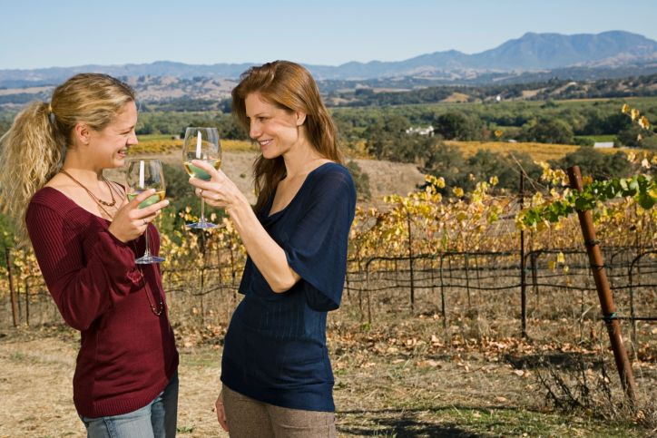 September is California Wine Month.  Enjoy a glass of wine with a friend at one of our many wineries.