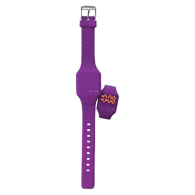 Girls' Fusion Hidden Led Digital Watch - Purple, Girl's