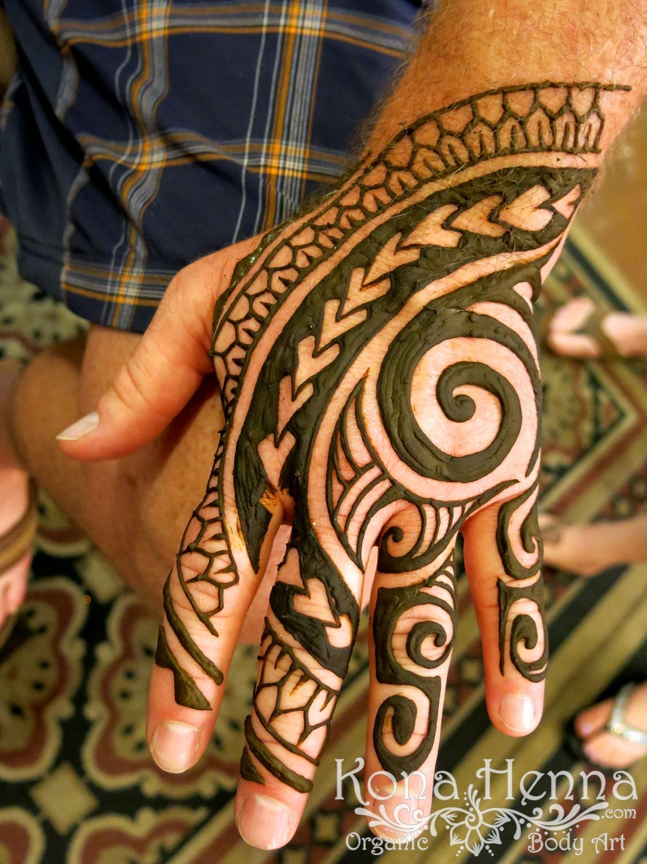 Kona Henna Studio hands gallery Tribal henna, Tribal