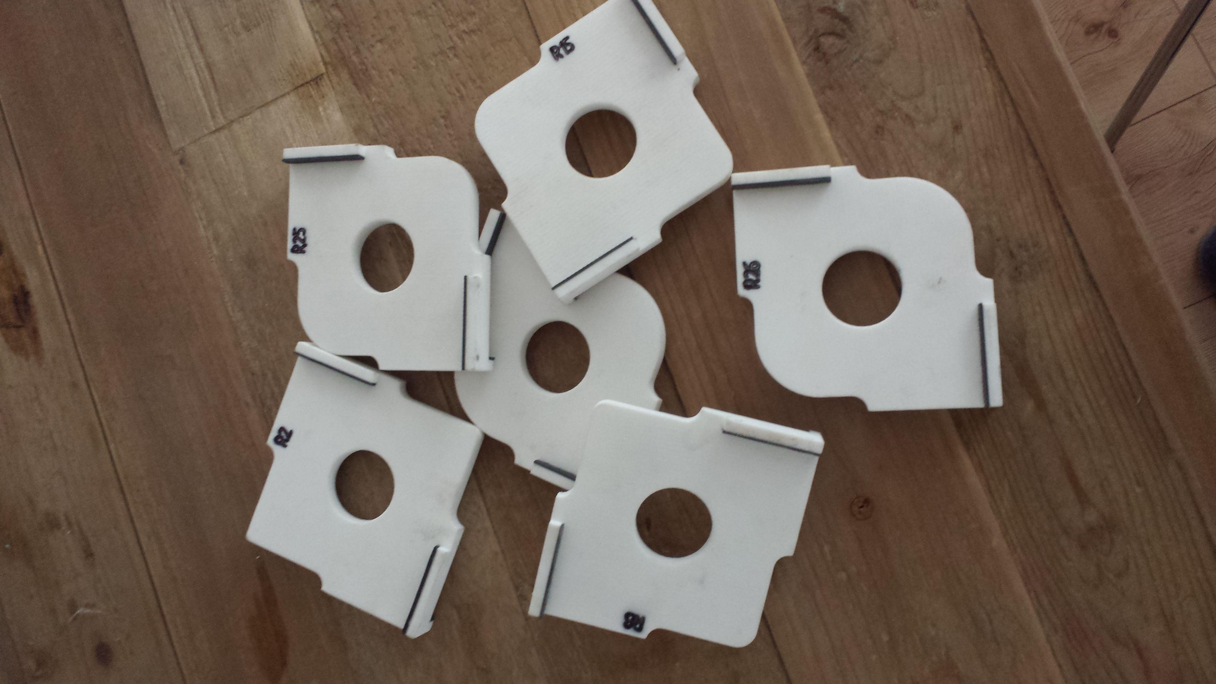 radiusschablonen f r den fr stisch bauanleitung zum selber bauen woodworking jigs pinterest. Black Bedroom Furniture Sets. Home Design Ideas