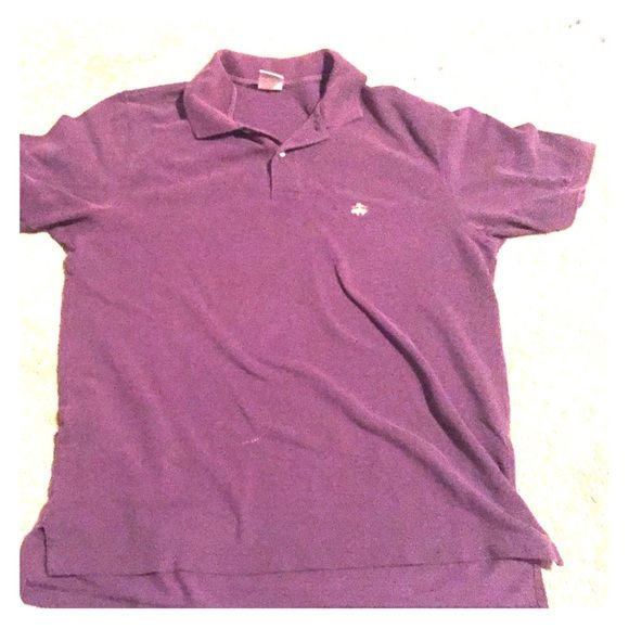 Brooks Brothers Men's Polo Brooks Brothers dark purple polo size Medium. Not 100% sure of original price Brooks Brothers Other