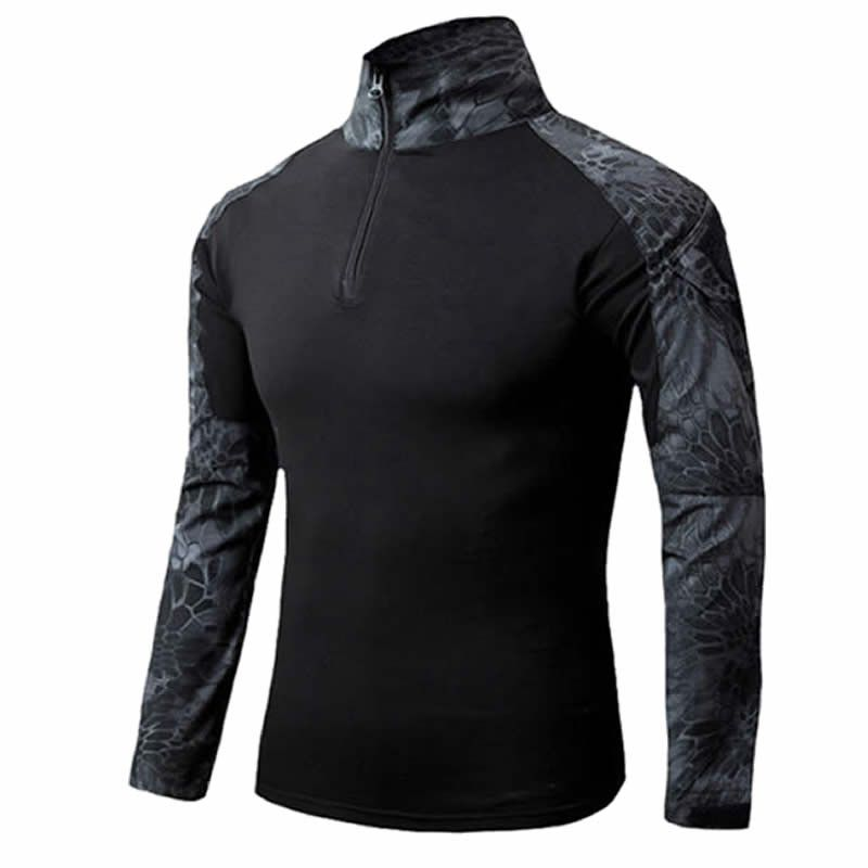 Tactical Camouflage Long Sleeve