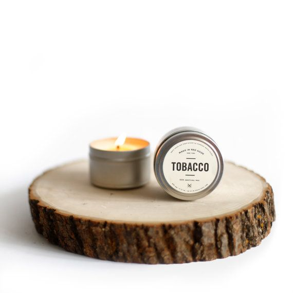 Tobacco Man Candle