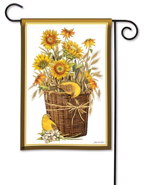 Beautiful Summer Sunflowers Garden Flag