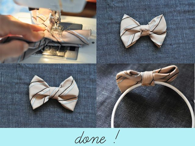 Love this upcycle of an old tie!