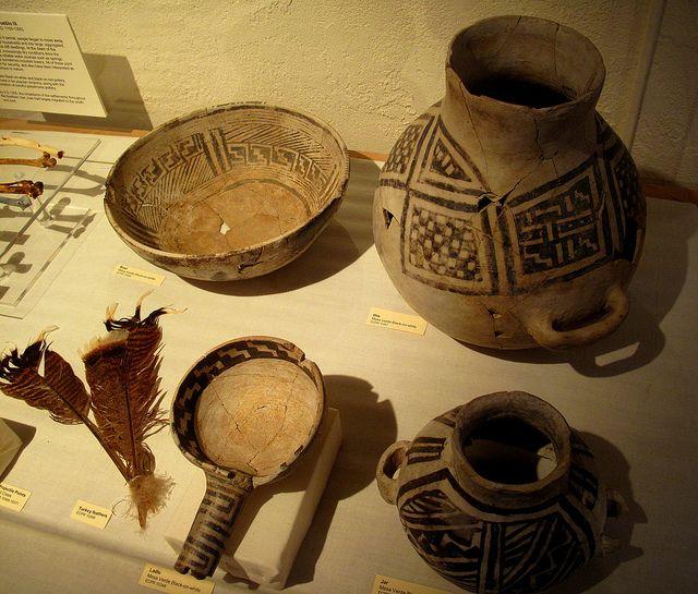 SW Native American pottery, via Flickr.