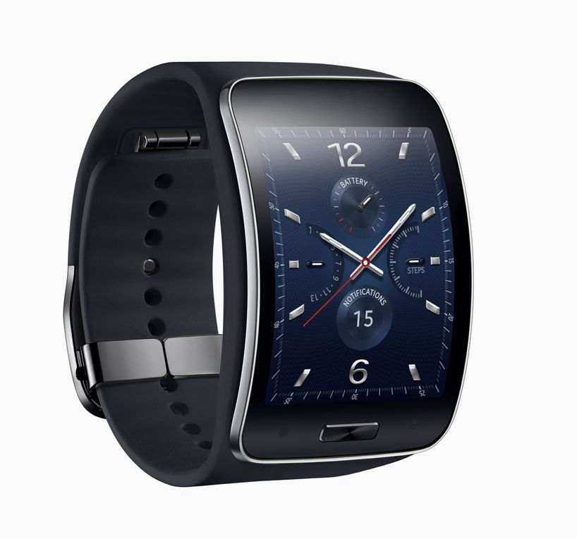 samsung curved gear S smartwatch features 3G connectivity