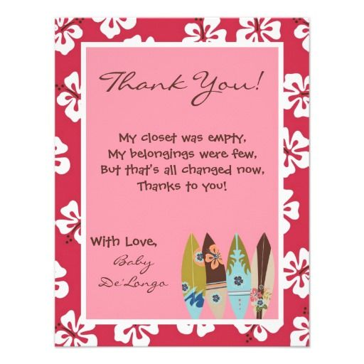 baby shower thank you poems   baby shower thank you messages, Baby shower invitation