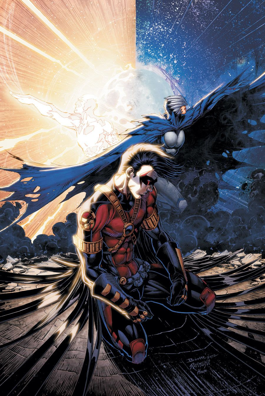 Teen Titans 17 By: Bret Booth and Andrew Dalhouse
