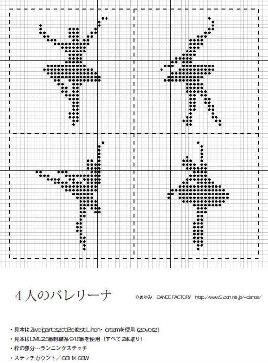 Ballerina x-stitch | yarn | Pinterest | Kreuzstich, Balett und Stiche