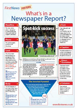 writing newspaper reports ks2