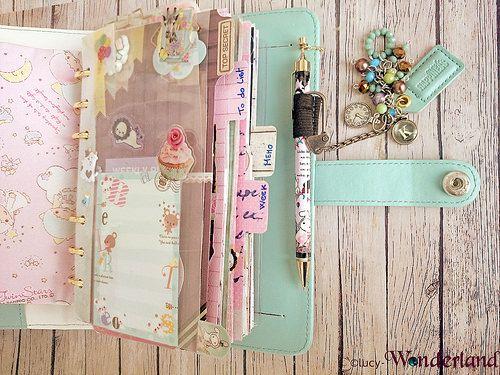 Planners Ideas and Accessories Lucy-Wonderland: Una tasca con la zip per Planner