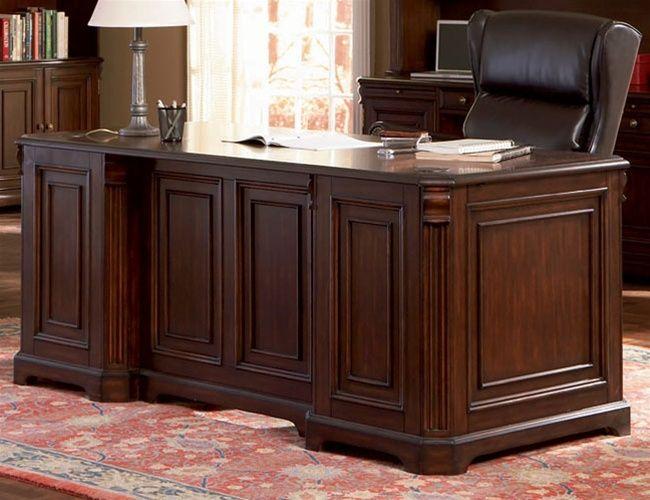 Best Home Office Executive Desk Home Office Executive Desk In Rich Dark Finish By C Home Office Furniture Home Office Furniture Sets Home Office Furniture Desk